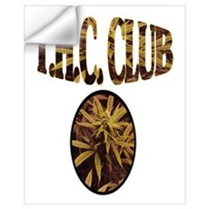 T.H.C. CLUB Wall Decal