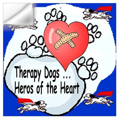 Therapy Dogs! Wall Decal