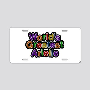 World's Greatest Arielle Aluminum License Plate