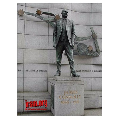 James Connolly Statue Print Poster