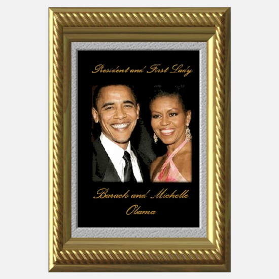 Cute Dress michelle obama to the inauguration ball Wall Art
