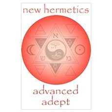 New Hermetics Advanced Adept Poster