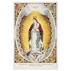 Our Lady of Guadalupe Mexican Print Poster