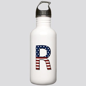 R Stars and Stripes Stainless Water Bottle 1.0L