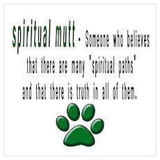 SPIRITUAL MUTT DEFINITION Poster
