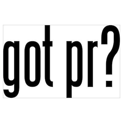 got pr? triathlon Poster