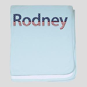 Rodney Stars and Stripes baby blanket