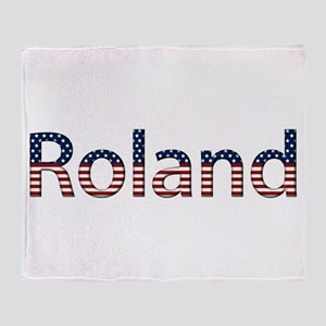 Roland Stars and Stripes Throw Blanket