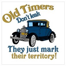 Old Timers Poster
