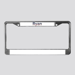 Ryan Stars and Stripes License Plate Frame