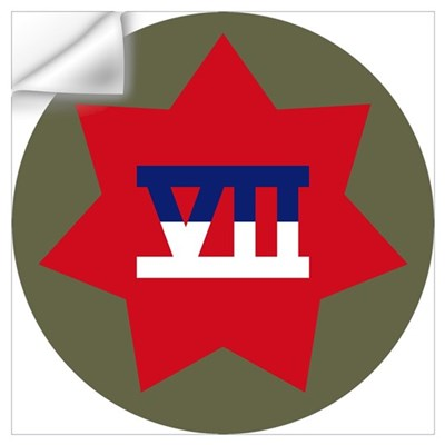 VII Corps Wall Decal