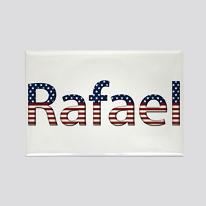 Rafael Stars and Stripes Rectangle Magnet