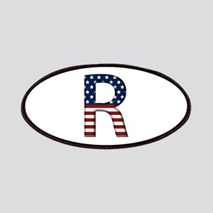 R Stars and Stripes Patch