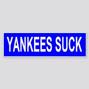 Yankees Suck bumper sticker