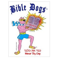 BIBLE DOGS Canvas Art