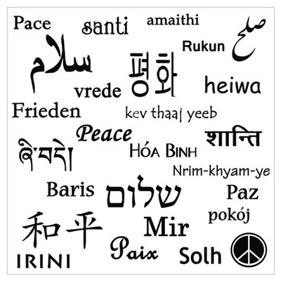 Peace Everywhere! Poster