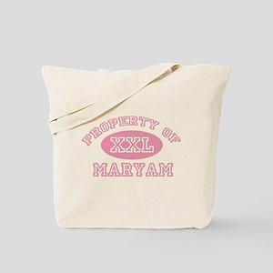Property of Maryam Tote Bag