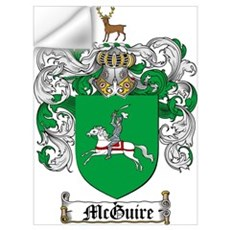 McGuire Family Crest Wall Decal