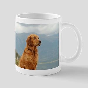 Golden Retriever Lake Mug