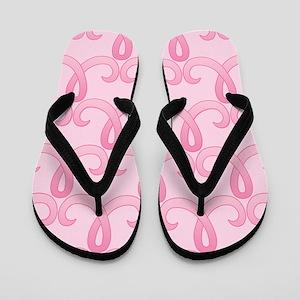 Pink Ribbon 365 Flip Flops