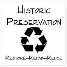 Preservation is Recycling Framed Print