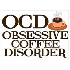 Funny Coffee Poster