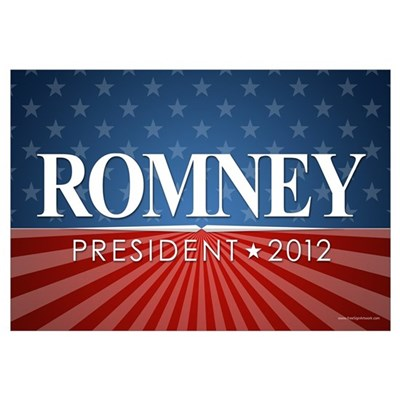 ROMNEY - Stars and Stripes Canvas Art