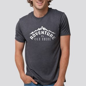 Adventure is Out There Mens Tri-blend T-Shirts