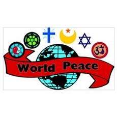 World Religions/Religious Peace Poster
