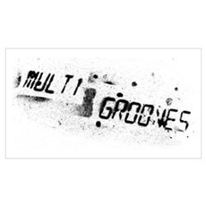 Multi Grooves Poster