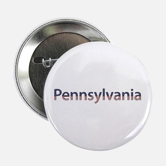 Pennsylvania Stars and Stripes Button