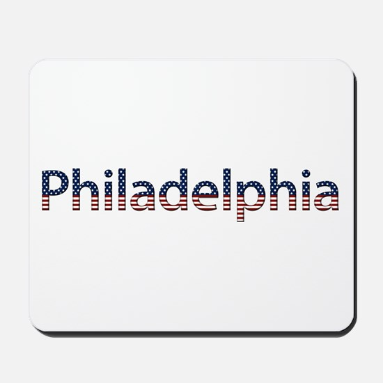 Philadelphia Stars and Stripes Mousepad