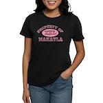 Property of Makayla Women's Dark T-Shirt