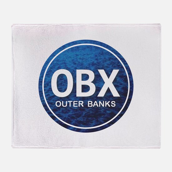 OBX - Outer Banks Throw Blanket