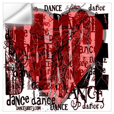 Dance Dance Dance Wall Decal