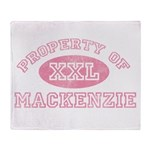 Property of Mackenzie Throw Blanket