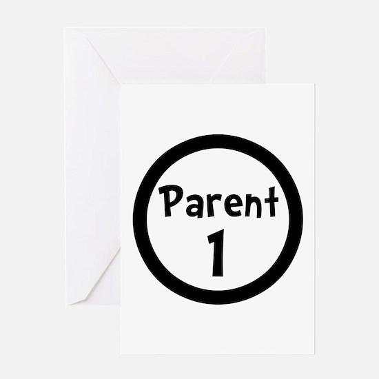 Parent 1 Greeting Card