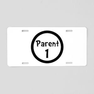 Parent 1 Aluminum License Plate