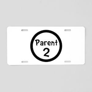 Parent 2 Aluminum License Plate