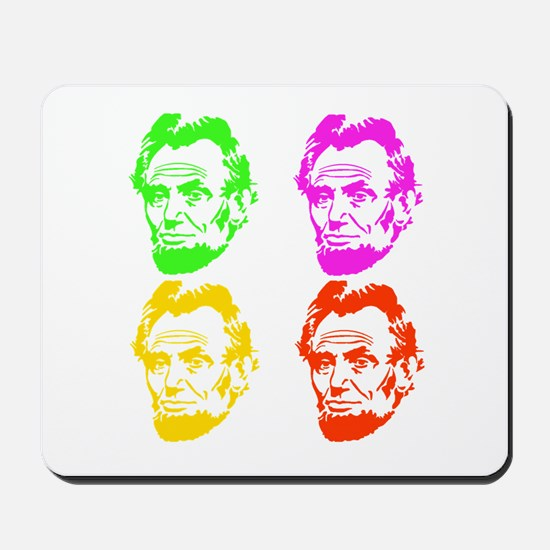 Lincoln Warhol Mousepad