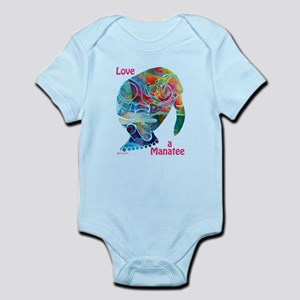 Manatees in Many Colors Infant Bodysuit