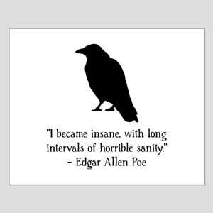 Edgar Allen Poe Quote Small Poster