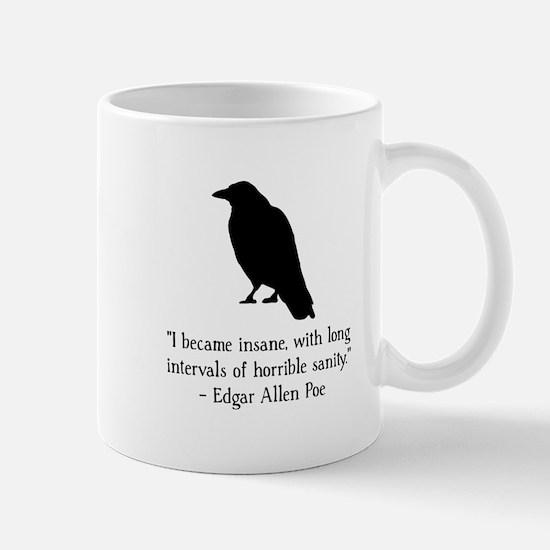 Edgar Allen Poe Quote Mug