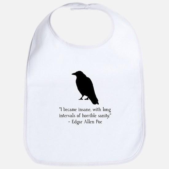 Edgar Allen Poe Quote Bib