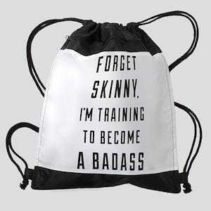 Forget Skinny Drawstring Backpack