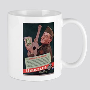 Ukuleles Satisfy! Mug