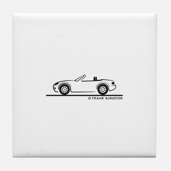 Mazda Miata MX-5 NB Tile Coaster