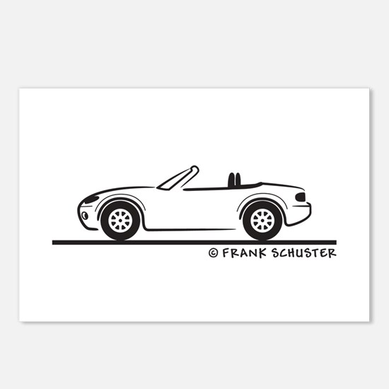 Mazda Miata MX-5 NB Postcards (Package of 8)
