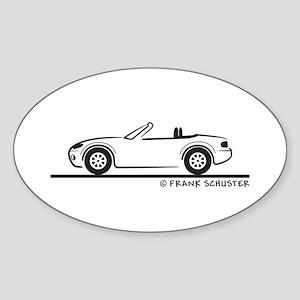 Mazda Miata MX-5 NB Sticker (Oval)