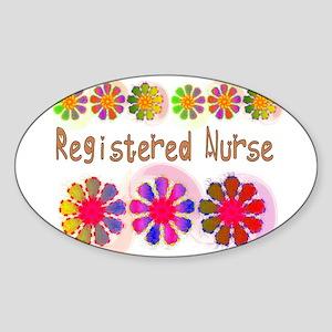 Registered Nurse 2011 Sticker (Oval)